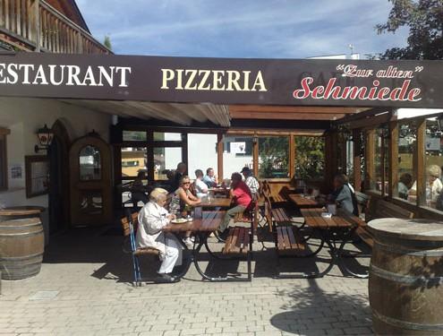 Giardino della Pizzeria a Castelrotto